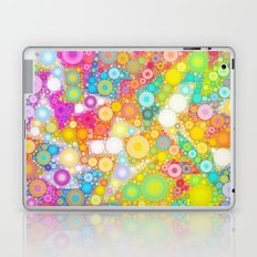 Sunny Bubbles on the Water Laptop & iPad Skin