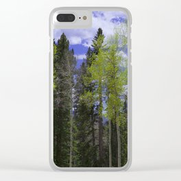 Spring in Aspen Country Clear iPhone Case