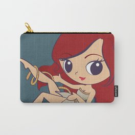 The Little Mermaid Pin Up Carry-All Pouch