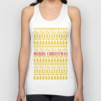merry christmas Tank Tops featuring Christmas Merry! by Fimbis