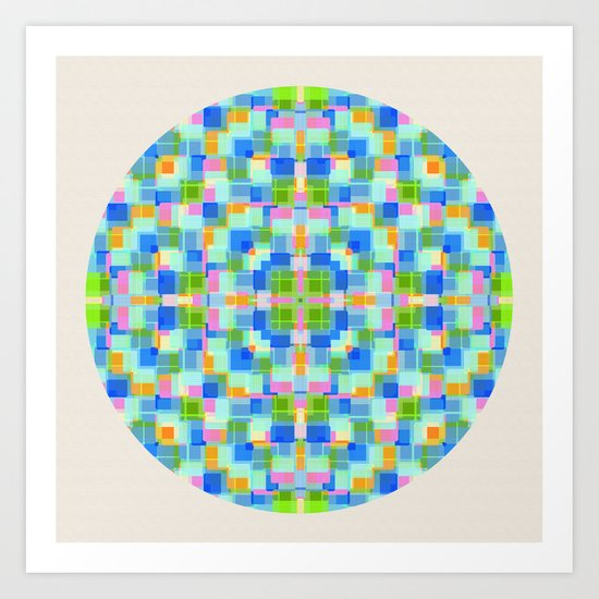 Surrounded By Joy Art Print