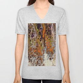 Autumnal ferns Unisex V-Neck