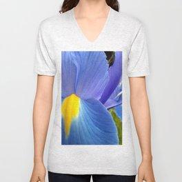 Blue Iris, 2012 Unisex V-Neck