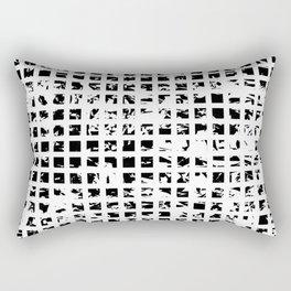 Controlled Randomness Rectangular Pillow
