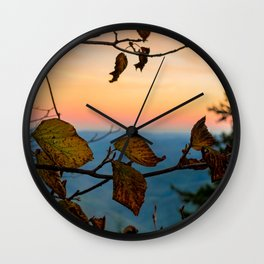 Turned Out to be Just Trees Wall Clock