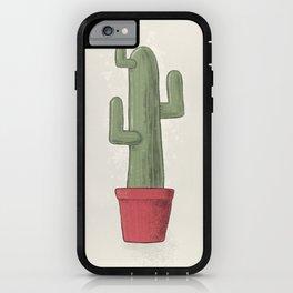 Cactus Desert iPhone Case