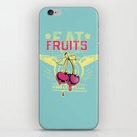 fruits iPhone & iPod Skins featuring Fruits by Tshirt-Factory