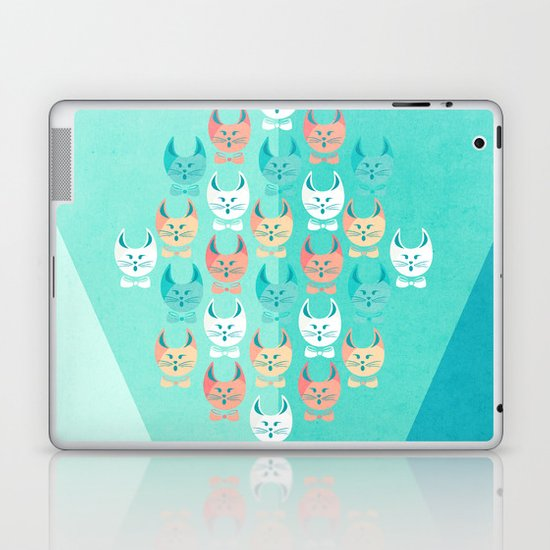 Singing Cats Laptop & iPad Skin