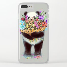 Flowers For You Clear iPhone Case