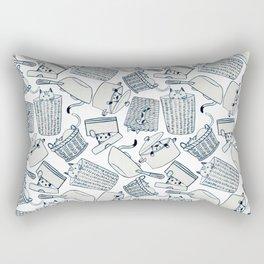 Hide & Seek Cats Rectangular Pillow