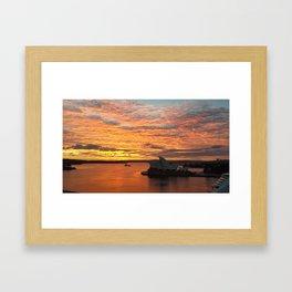 Good Morning Beloved city Sydney! Framed Art Print