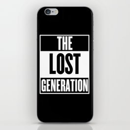 The Lost Generation iPhone Skin