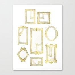Golden Frames Canvas Print