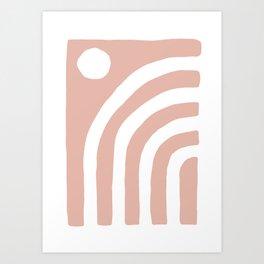 Daylight Blush Art Print