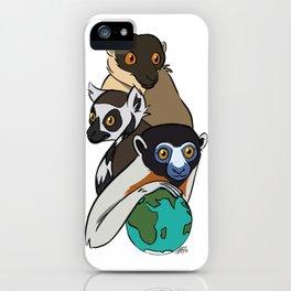 World Lemur Day 2017 iPhone Case