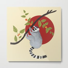 Lemur Metal Print
