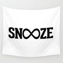 Snooze Forever Pillow Wall Tapestry