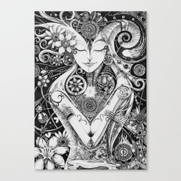 Dichotomy of Man Canvas Print