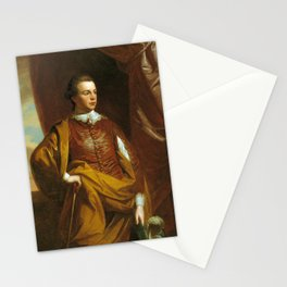 Benjamin West - Thomas Middleton of The Oaks Stationery Cards