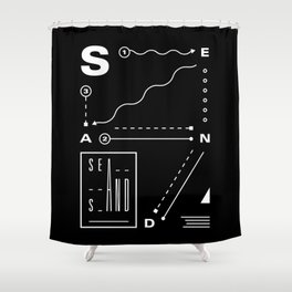 Sea And Sand Shower Curtain