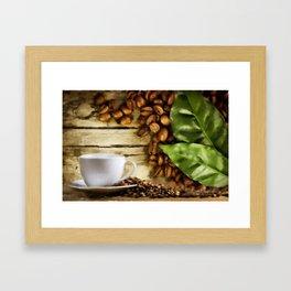 Cofee Framed Art Print