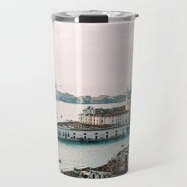 December Sunset, Venice Travel Mug