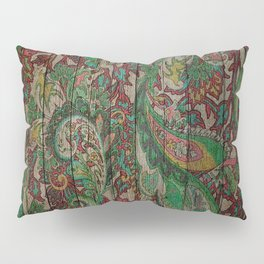 Kashmir on Wood 05 Pillow Sham
