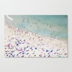 beach love IV Canvas Print