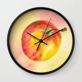Daily apple Wall Clock