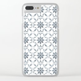 Ravello - Tile Pattern Clear iPhone Case
