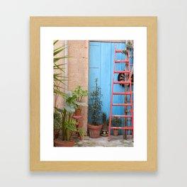 Italian Garden Framed Art Print
