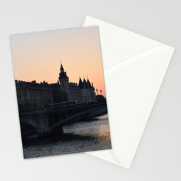 la senna parigi Stationery Cards