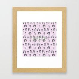 Queen me Framed Art Print