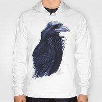 raven Hoodies featuring .Raven by Isaiah K. Stephens