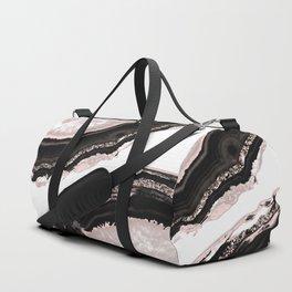 Agate Glitter Glam #4 #gem #decor #art #society6 Duffle Bag