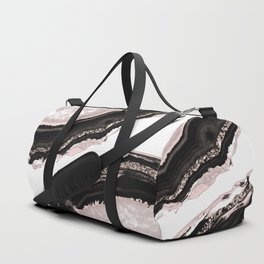 Agate Glitter Glam #4 #gem #decor #art #society6 Duffle Bag