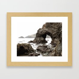 Low Tide Length by Jessi Fikan in Color Framed Art Print