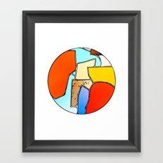 Terrene 1 Framed Art Print