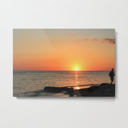 Dominican Sunset Metal Print