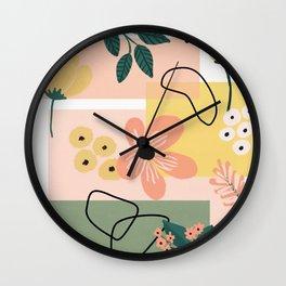 Terra firma Wall Clock