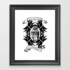 John 1:5 Framed Art Print