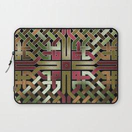 Earthtone Celtic Knot Laptop Sleeve