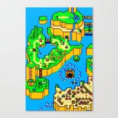 Mario World '84 Canvas Print
