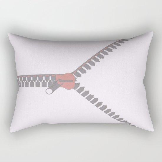 Unzipping or pass Rectangular Pillow