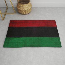 UNIA flag, Afro-American flag, Black Liberation flag Motif Rug