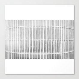 Estudio sobre blanco (las raicillas del presidio). Canvas Print