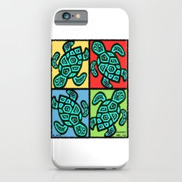 Pop Turtles iPhone Case