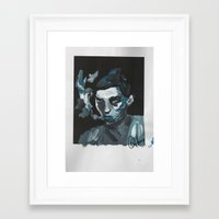 cassandra jean Framed Art Prints featuring Jean by The Headless Fish