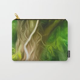 Dream Light Green Tree Carry-All Pouch