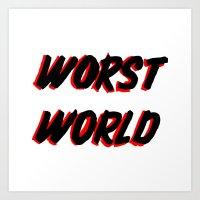World Issues Art Print